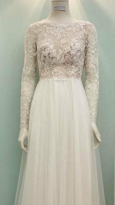 Hochzeitskleid aus Kiel